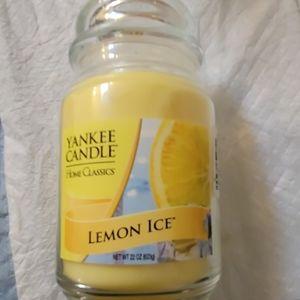 New Yankee Candle Lemon Ice!